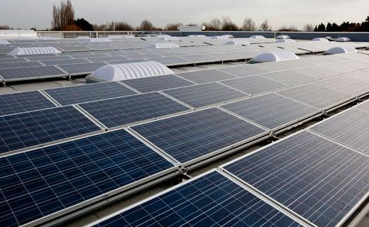 Sainsbuy's solar panels